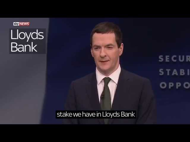 George Osborne's Party Conference Speech: The Most Important bits