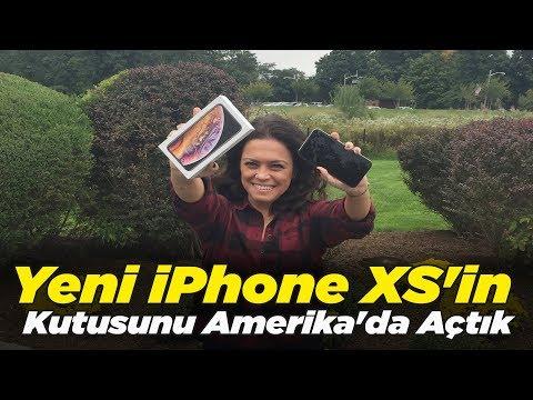 iPhone XS elimizde   ABD'den kutu açılışı!