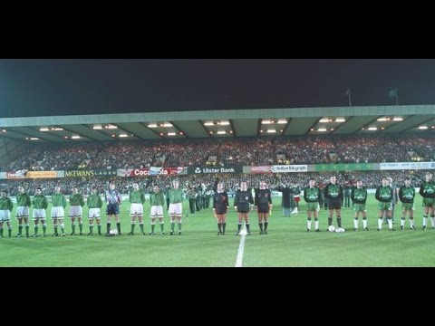 Northern Ireland 1-1 Republic of Ireland 1993 (World Cup Qualifier)