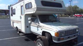 FREE CRAIGSLIST FIND 1986 TOYOTA DOLPHIN MOTORHOME FROM HELL ROOF ROTTED