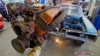 Super Rare! 1970  Dodge Coronet Convertible 4 Speed - 440 tear down