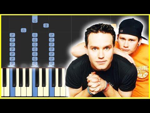 BLINK 182  ADAMS SONG  Piano Tutorial
