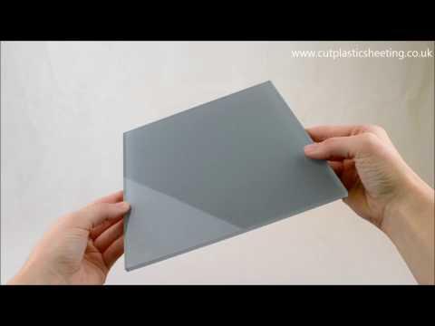 Ocean Grey High Gloss Acrylic Plastic Splashback
