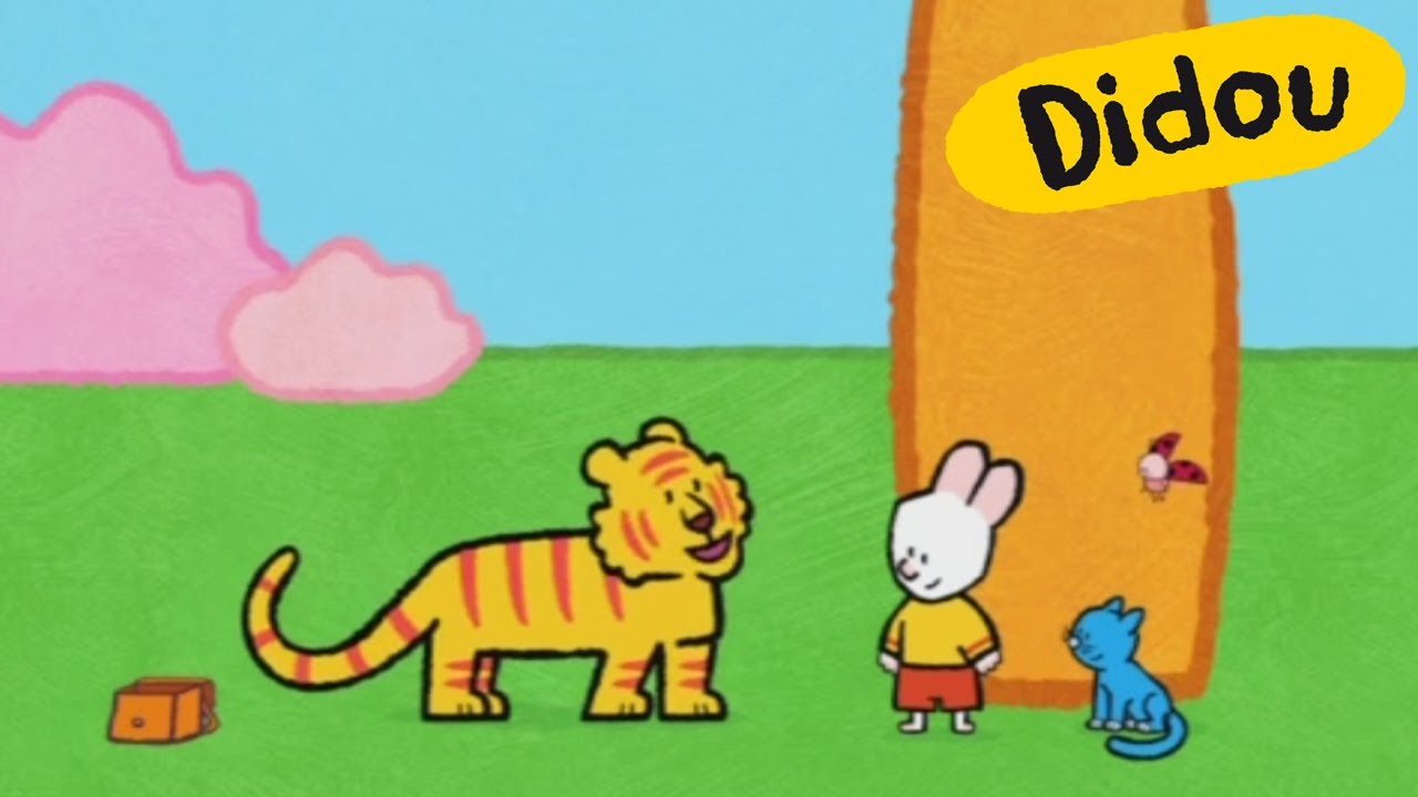 Didou Dessine Moi Un Tigre S03e28 Hd Youtube