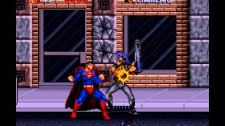 The Death and Return of Superman - Death and Return of Superman, The (SNES) - Vizzed.com GamePlay - User video