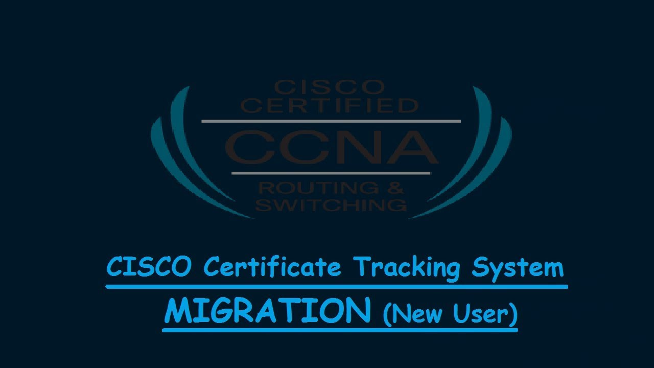 Cts Certification Tracking System Migrationnew User How To Migrate