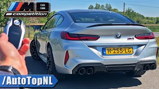 BMW M8 COMPETITION Gran Coupe REVIEW on AUTOBAHN [NO SPEED LIMIT] by AutoTopNL