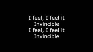 Skillet Feel Invincible Lyrics HD
