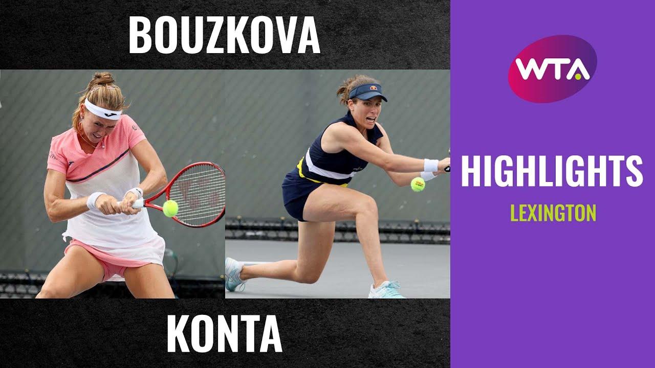 Download Marie Bouzkova vs. Johanna Konta   2020 Lexington First Round   WTA Highlights