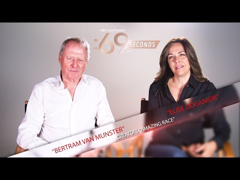 Elise Doganieri and Bertram van Munster 69 Second Speed Round For The 69th Emmys