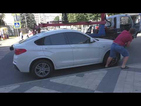 Краснодар. Автохамы у банка Кубань первой категории