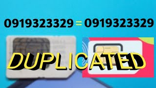 HOW TO DUPLICATE YOUR SIM
