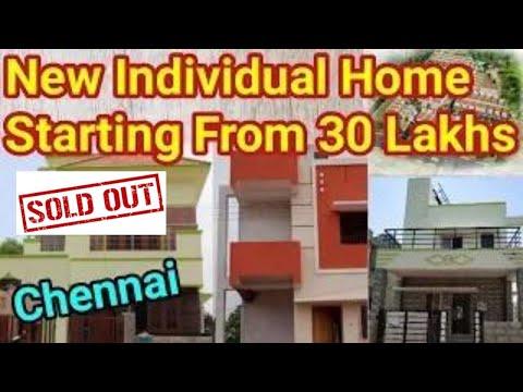 New Home Plan   Low Budget New Individual Home Chennai   Tamil