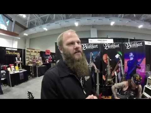 Summer NAMM 2014 - Blakhart: Gwar & Deicide's Guitars | GEAR GODS