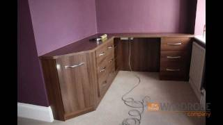 Fitted Wardrobes London - The Fitted Wardrobe Company - Dark Walnut - Part 2