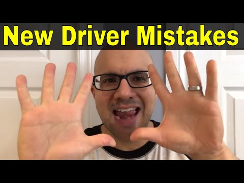 10 Common Mistakes By New Drivers