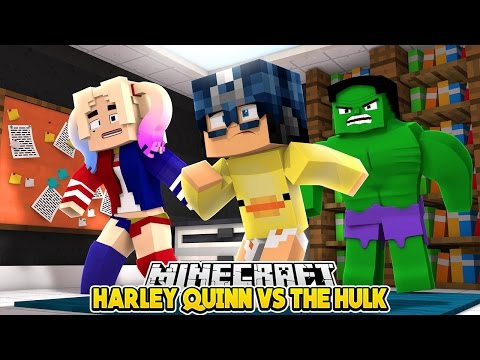 Minecraft Roleplay - HARLEY QUINN vs THE AVENGERS!!! Baby Duck Adventures thumbnail
