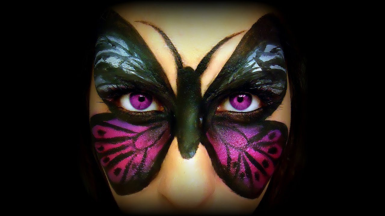 butterfly makeup transformation tutorial youtube