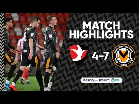 Cheltenham Town v Newport County highlights