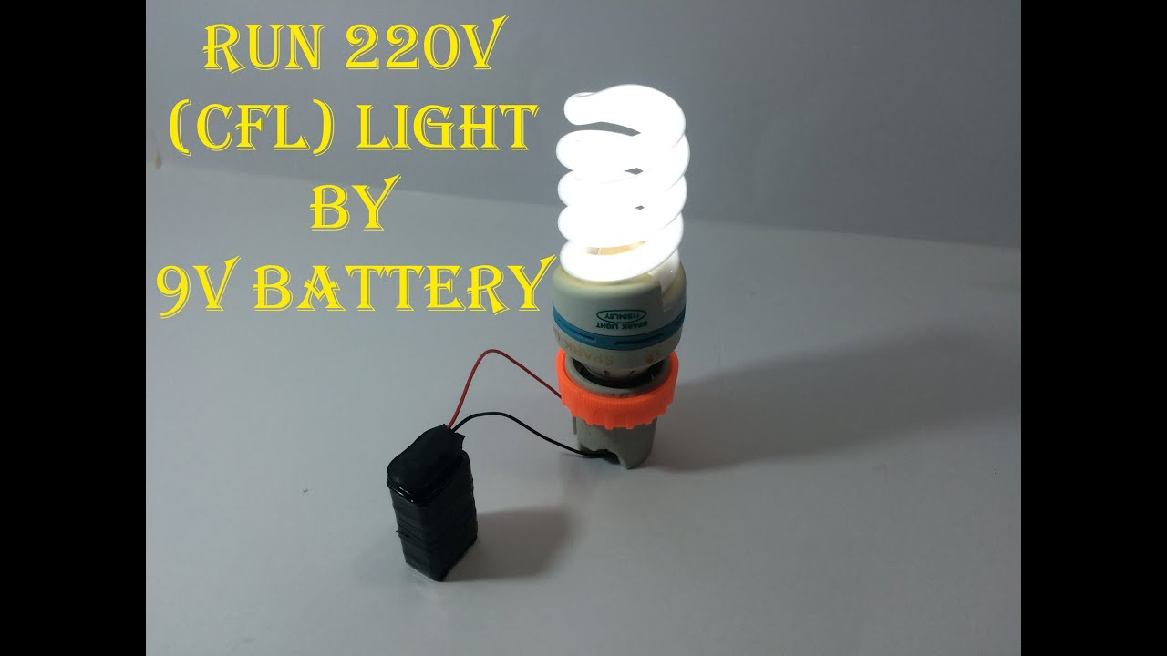 Run Volt 12 Battery Leds