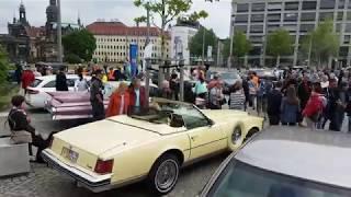 Cadillac-Armada besuchte Dresden