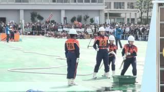 〈優勝〉福岡県早良女性消防隊 第22回 全国女性消防操法大会