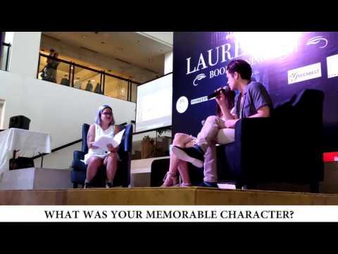 Event Recap [#1]   Lauren Kate Booksigning with Harrison Gilbertson