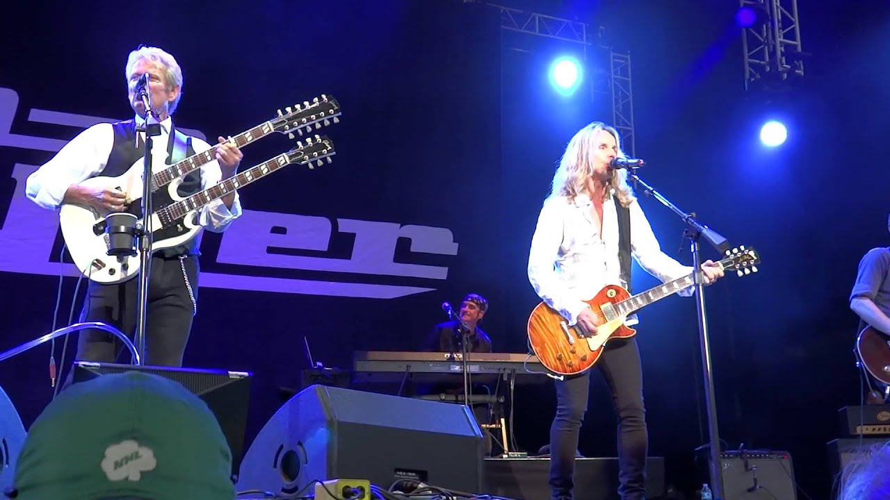 Don Felder With Tommy Shaw Of Styx - Hotel California