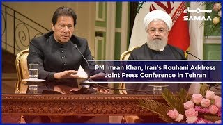 PM Imran Khan, Iran's Rouhani Address Joint Press Conference in Tehran | 22 April 2019