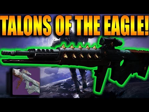 Destiny 2 | Talons Of The Eagle Iron Banner Scout Rifle PvP Gameplay Review | Forsaken DLC
