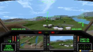 Comanche 2 gameplay (PC Game, 1995)