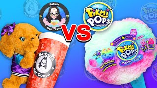 Can you DIY a better Giant Pikmi Pops? - Pikmi Pops vs Bebuts Hot Cocoa