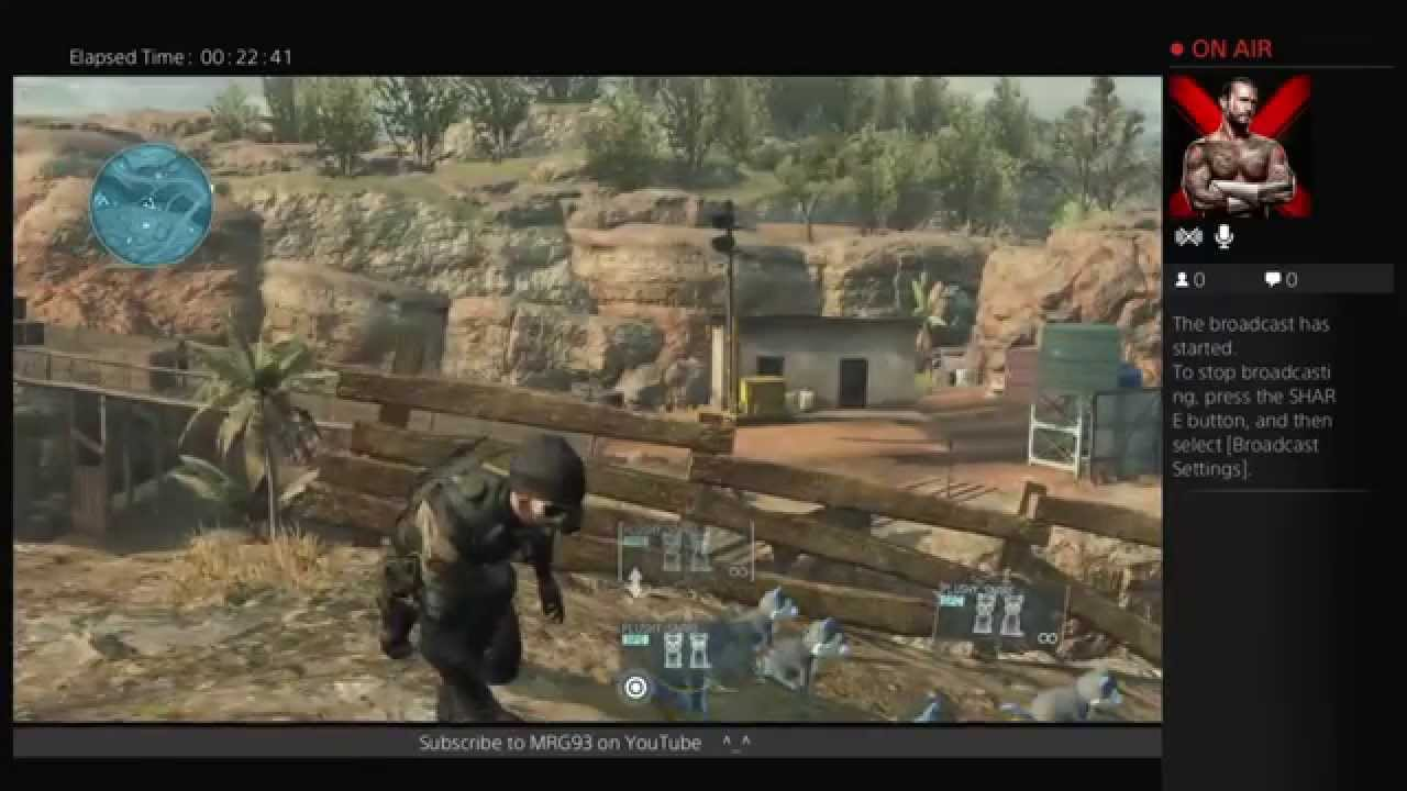 Metal Gear Solid Online Livestream ep4 - YouTube