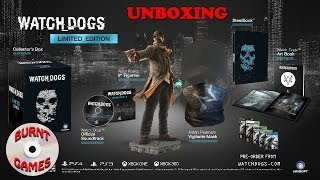 Watch Dogs Limited Edition PC Unboxing