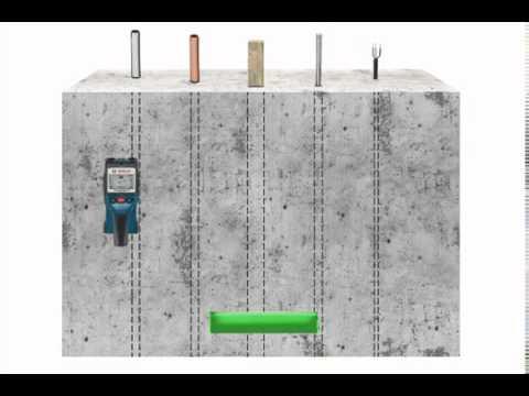 bosch d tecteur m taux dtect150 par gefix youtube. Black Bedroom Furniture Sets. Home Design Ideas