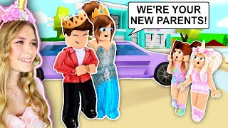 THE ROYAL FAMILY ADOPTED US IN BROOKHAVEN! (ROBLOX)