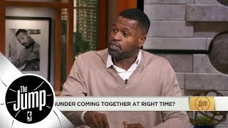 Stephen Jackson: I don't see many teams being better than Thunder in 7-game series | The Jump | ESPN