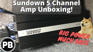 Video Best 5 Channel Amplifier Ever? Sundown Amp Unboxing | SAE-1100.5 download MP3, 3GP, MP4, WEBM, AVI, FLV Oktober 2018