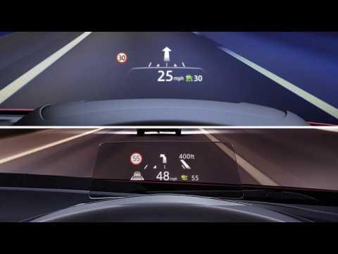 Mazda active driving display