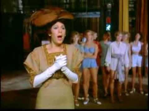 "CATHERINE JACOBY aka LORIA PARKER as Fanny Brice sings ""ROSE OF WASHINGTON SQUARE"" in ZIEGFELD"
