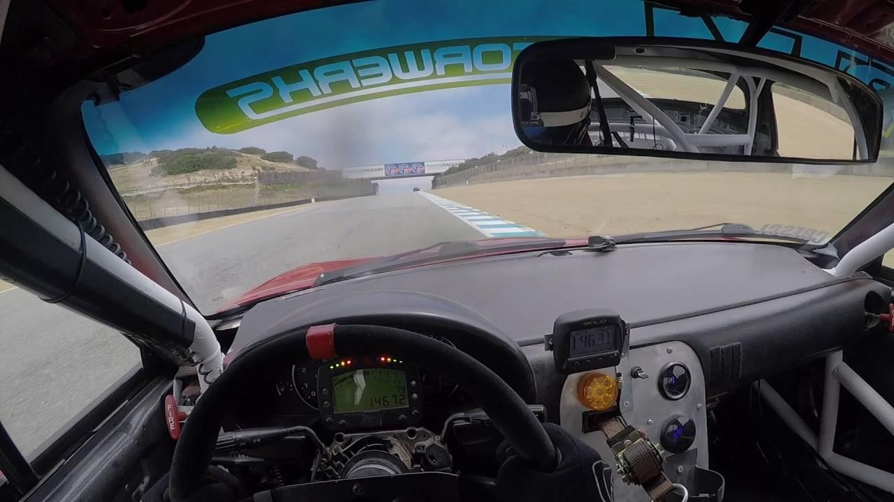 Mazda Raceway Laguna Seca Spec Miata Pole Position