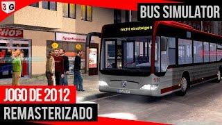 Bus Simulator 2012 - Jogo Incrível Remasterizado + Logitech G27