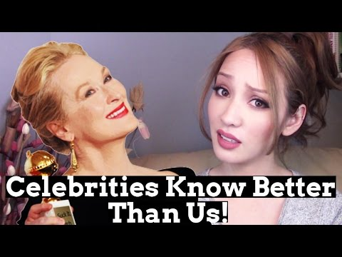 Celebrities Know Better Than Us! | Hollywood & Politics