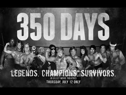 350 DAYS THE MOVIE PREMIER AND Q&A WITH JJ DILLON, GREG VALENTINE, TITO SANTANA & JOEL GERTNER!