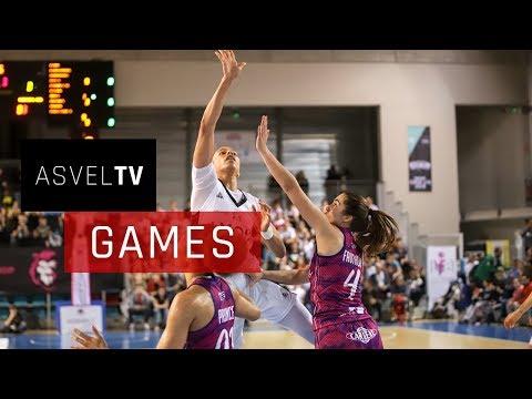 Quart de finale aller : Lyon ASVEL Féminin vs Tarbes