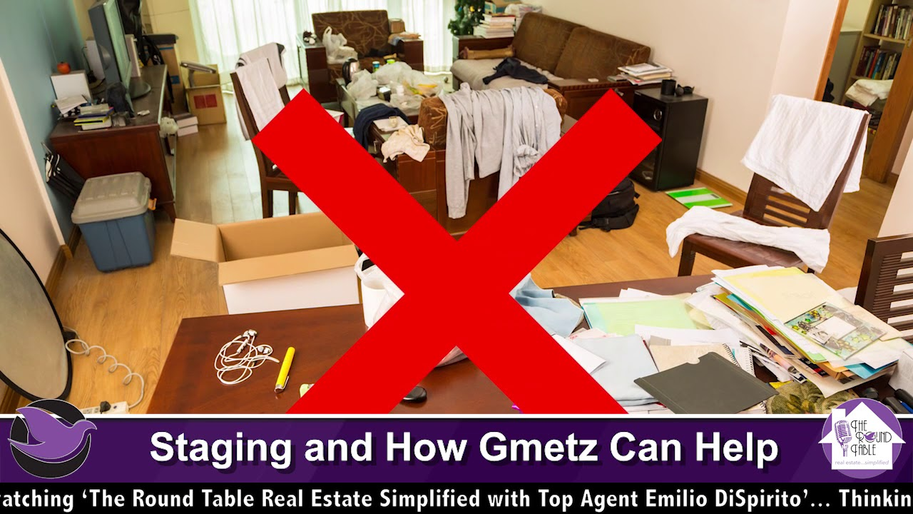 Home Staging Metz staging and how gmetz moving & storage can help, with george