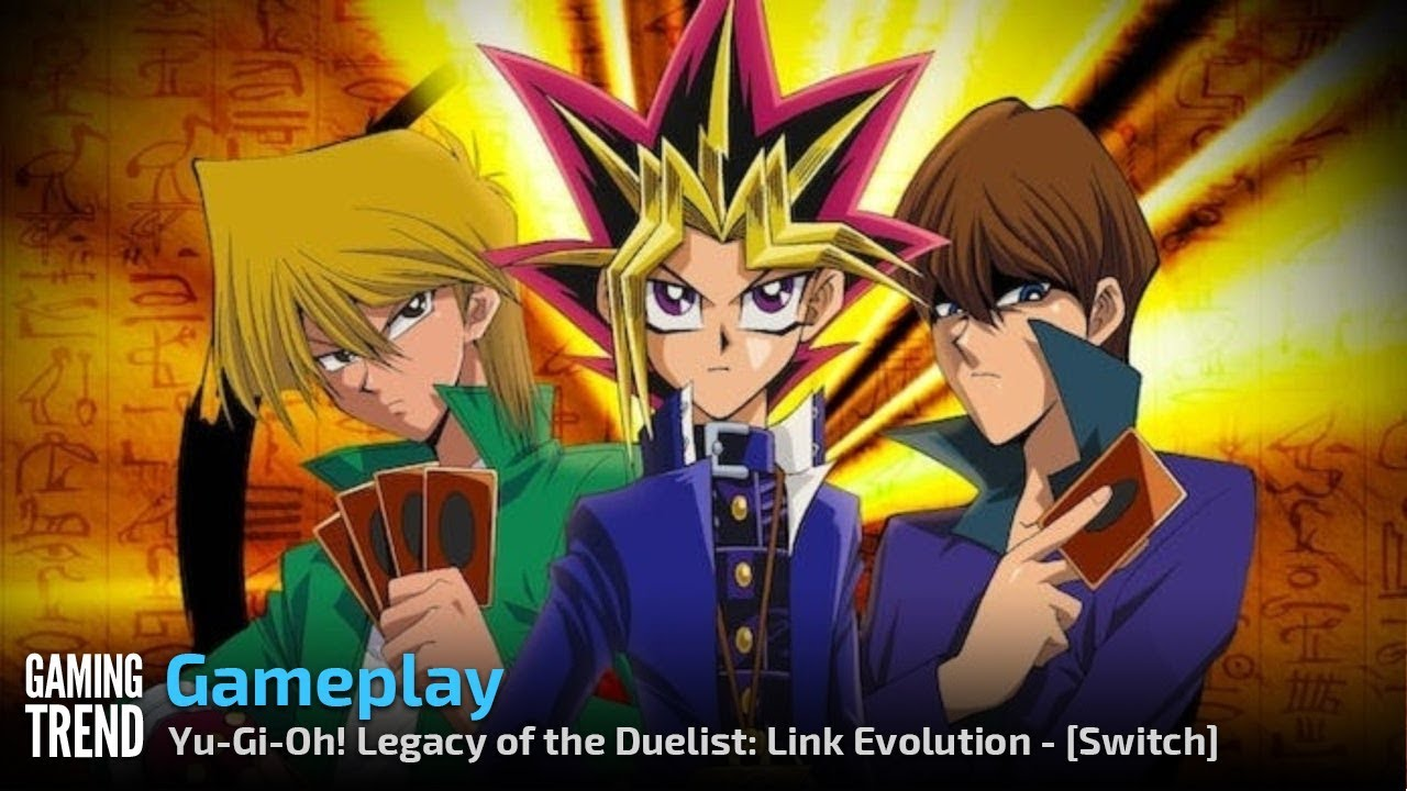 You've activated my trap card! — Yu-Gi-Oh! Legacy of the