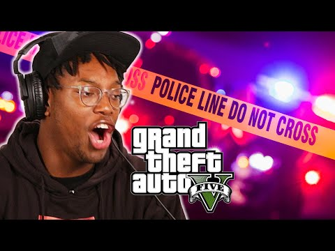 How Many Laws Can You Break In 1 Life • GTA V Challenge