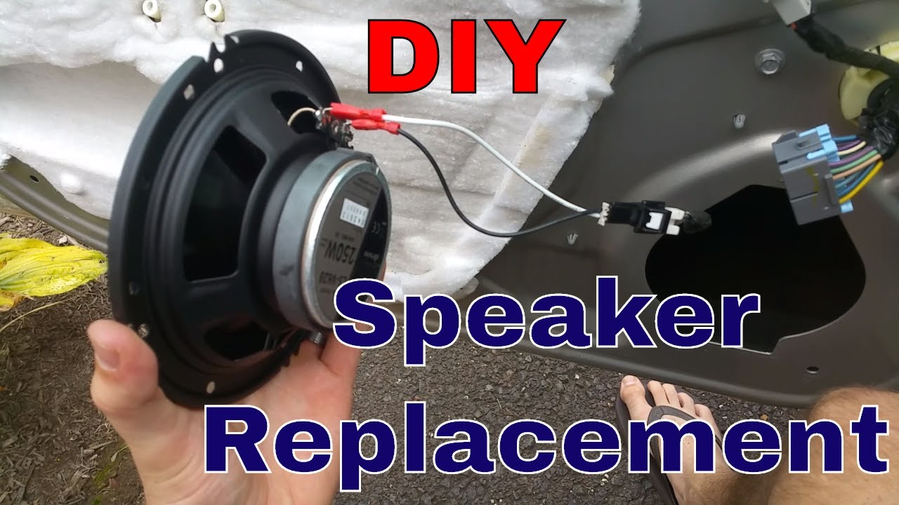 small resolution of chevy impala front speaker replacement works on most gm cars