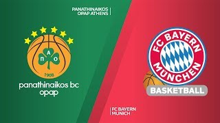 Panathinaikos Athens - FC Bayern Munich Highlights | Turkish Airlines EuroLeague, RS Round 19